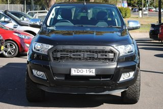2016 Ford Ranger PX MkII XLT Double Cab Black 6 Speed Manual Utility