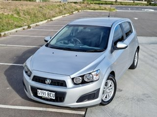 2014 Holden Barina TM MY15 CD Silver 6 Speed Automatic Hatchback