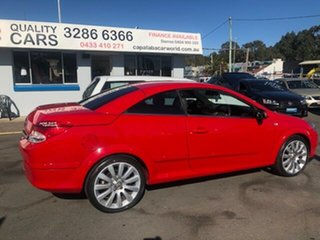 2007 Holden Astra AH Twin TOP Red 4 Speed Automatic Convertible.
