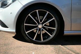 2015 Mercedes-Benz CLA200 CDI S/Brake 117 OrangeArt Ed Silver 7 Speed Auto Dual Clutch Wagon.