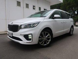 2019 Kia Carnival YP MY19 Platinum White 8 Speed Sports Automatic Wagon.