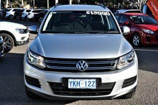 2011 Volkswagen Tiguan 5N MY12 132TSI 4MOTION Silver 6 Speed Manual Wagon.