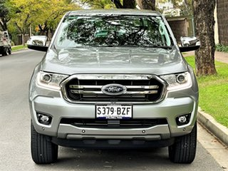 2018 Ford Ranger PX MkIII 2019.00MY XLT Silver 10 Speed Sports Automatic Utility.