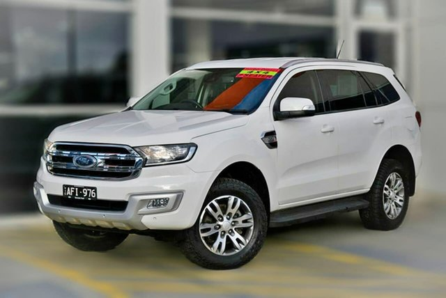 Used Ford Everest UA Trend Berwick, 2015 Ford Everest UA Trend White 6 Speed Sports Automatic SUV