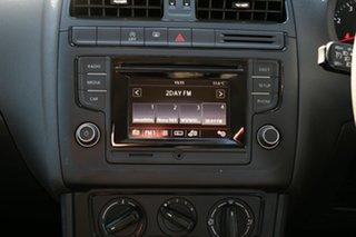 2015 Volkswagen Polo 6R MY15 66 TSI Trendline Blue 7 Speed Auto Direct Shift Hatchback