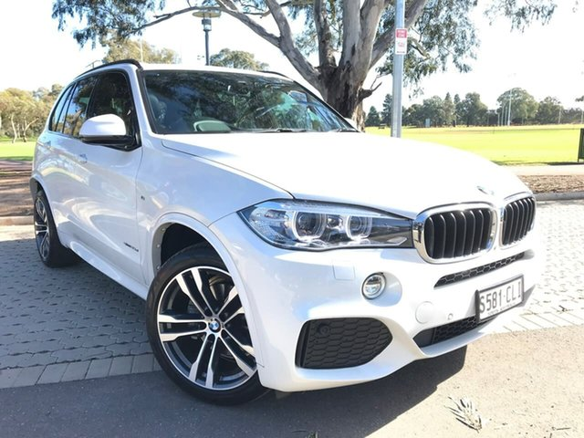 Used BMW X5 F15 sDrive25d Adelaide, 2017 BMW X5 F15 sDrive25d White 8 Speed Automatic Wagon
