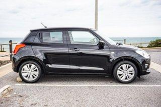 2018 Suzuki Swift AZ GL Navigator Black 1 Speed Constant Variable Hatchback.