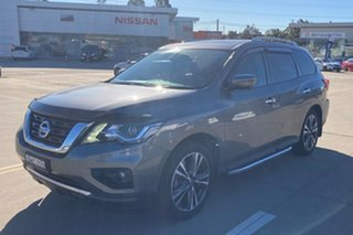 2018 Nissan Pathfinder R52 Series II MY17 Ti X-tronic 4WD Grey 1 Speed Constant Variable Wagon.