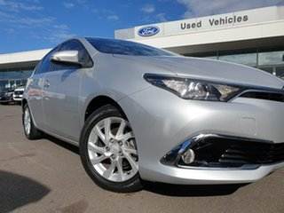 2017 Toyota Corolla ZRE182R Ascent Sport S-CVT Silver 7 Speed Constant Variable Hatchback.