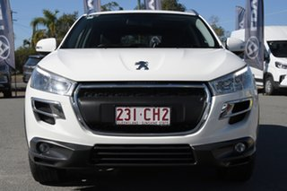 2015 Peugeot 4008 MY15 Active 2WD Antarctic White/black 6 Speed Constant Variable Wagon