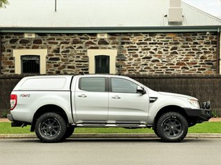 2012 Ford Ranger PX XLT Double Cab Silver 6 Speed Manual Utility
