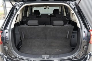 2017 Mitsubishi Outlander ZK MY17 LS 4WD Black 6 Speed Constant Variable Wagon