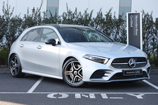 2020 Mercedes-Benz A-Class W177 800+050MY A250 DCT Iridium Silver 7 Speed.