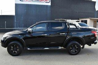 2015 Mitsubishi Triton MQ MY16 GLS (4x4) Black 5 Speed Automatic Dual Cab Utility