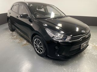 2018 Kia Rio YB MY19 S Black 4 Speed Sports Automatic Hatchback.