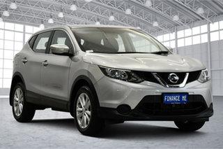 2014 Nissan Qashqai J11 ST Silver 1 Speed Constant Variable Wagon.
