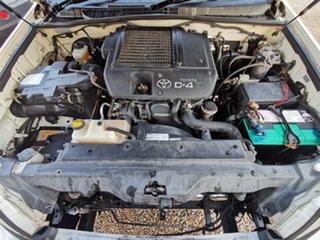 2007 Toyota Landcruiser Prado KDJ120R GX White 6 Speed Manual Wagon