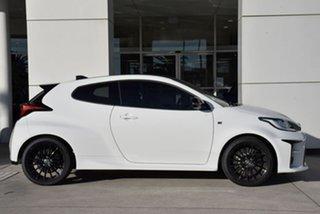 2021 Toyota Yaris Gxpa16R GR White 6 Speed Manual Hatchback.