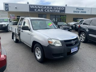 2007 Mazda BT-50 B2500 DX Silver 5 Speed Manual Cab Chassis.