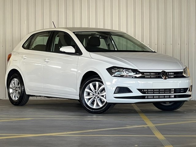 New Volkswagen Polo AW MY21 85TSI DSG Comfortline Moorabbin, 2021 Volkswagen Polo AW MY21 85TSI DSG Comfortline White 7 Speed Sports Automatic Dual Clutch