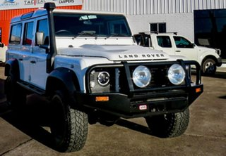 2010 Land Rover Defender 110 11MY White 6 Speed Manual Wagon