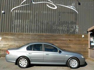 2006 Ford Falcon BF Futura Silver 4 Speed Sports Automatic Sedan.