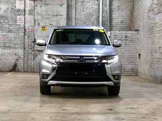 2016 Mitsubishi Outlander ZK MY17 LS 2WD Silver 6 Speed Constant Variable Wagon.