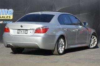 2005 BMW 5 Series E60 530i Steptronic M Sport Silver 6 Speed Sports Automatic Sedan
