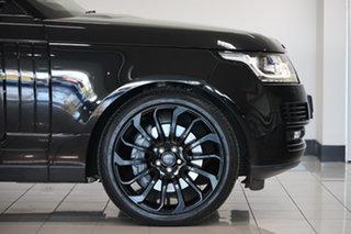 2013 Land Rover Range Rover L405 14MY Vogue SE Santorini Black 8 Speed Sports Automatic Wagon