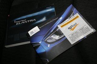 2011 Hyundai Elantra MD Active White 6 Speed Sports Automatic Sedan