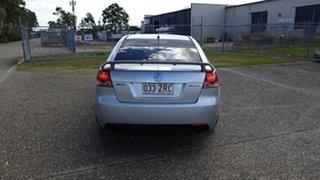 2010 Holden Commodore VE MY10 SV6 Silver 6 Speed Manual Sedan