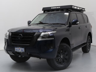 2020 Nissan Patrol Y62 Series 5 MY20 TI (4x4) Hermosa Blue 7 Speed Automatic Wagon.