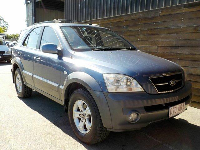 Used Kia Sorento BL EX Labrador, 2003 Kia Sorento BL EX Blue 4 Speed Automatic Wagon