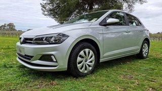 2021 Volkswagen Polo AW MY21 70TSI DSG Trendline Reflex Silver 7 Speed Sports Automatic Dual Clutch