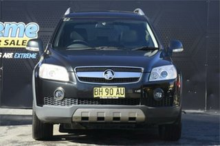 2010 Holden Captiva CG MY10 LX AWD Black 5 Speed Sports Automatic Wagon.