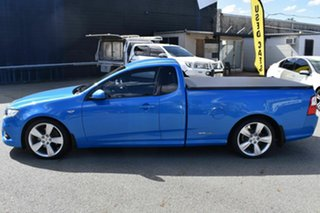 2011 Ford Falcon FG Upgrade XR6T Blue 6 Speed Manual Utility
