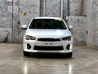 2016 Mitsubishi Lancer CF MY16 LS White 6 Speed Constant Variable Sedan.