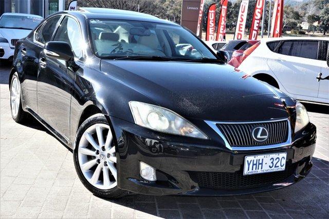 Used Lexus IS GSE20R MY10 IS250 Prestige Phillip, 2010 Lexus IS GSE20R MY10 IS250 Prestige Black 6 Speed Sports Automatic Sedan