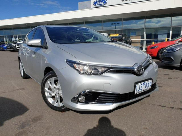 Used Toyota Corolla ZRE182R Ascent Sport S-CVT Essendon Fields, 2017 Toyota Corolla ZRE182R Ascent Sport S-CVT Silver 7 Speed Constant Variable Hatchback