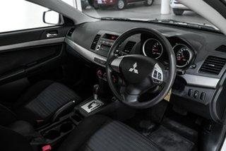 2011 Mitsubishi Lancer CJ MY12 ES White 6 Speed Constant Variable Sedan