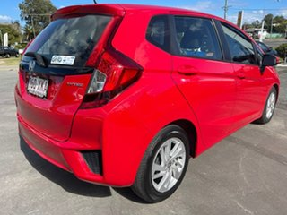 2017 Honda Jazz GF MY17 VTi Red 1 Speed Constant Variable Hatchback.