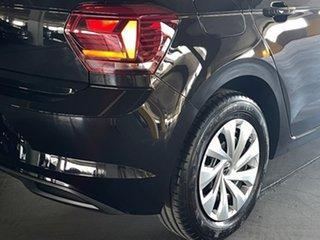 2021 Volkswagen Polo AW MY21 70TSI DSG Trendline Black 7 Speed Sports Automatic Dual Clutch