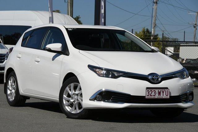 Used Toyota Corolla ZRE182R Ascent Sport S-CVT Rocklea, 2016 Toyota Corolla ZRE182R Ascent Sport S-CVT Glacier White 7 Speed Constant Variable Hatchback