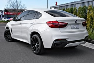 2017 BMW X6 F16 M50d Coupe Steptronic White 8 Speed Sports Automatic Wagon.