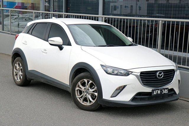 Pre-Owned Mazda CX-3 DK2W7A Maxx SKYACTIV-Drive Preston, 2015 Mazda CX-3 DK2W7A Maxx SKYACTIV-Drive White 6 Speed Sports Automatic Wagon