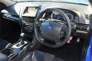 2010 Ford Falcon FG XR6 Super Cab Blue 4 Speed Sports Automatic Cab Chassis
