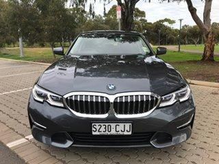 2020 BMW 3 Series G20 320i Steptronic Luxury Line Grey 8 Speed Sports Automatic Sedan.