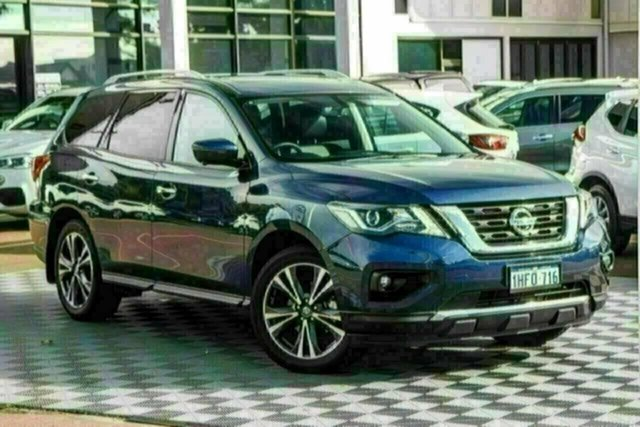 Used Nissan Pathfinder R52 Series III MY19 Ti X-tronic 2WD Attadale, 2020 Nissan Pathfinder R52 Series III MY19 Ti X-tronic 2WD Caspian Blue 1 Speed Constant Variable