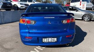 2010 Mitsubishi Lancer CJ MY11 SX Blue 5 Speed Manual Sedan