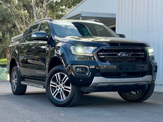 Used Ford Ranger PX MkIII 2020.25MY Wildtrak Clare, 2019 Ford Ranger PX MkIII 2020.25MY Wildtrak Black 6 Speed Sports Automatic Double Cab Pick Up